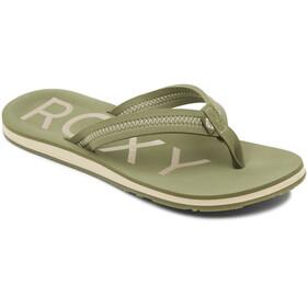 Roxy Vista III Sandali Donna, verde